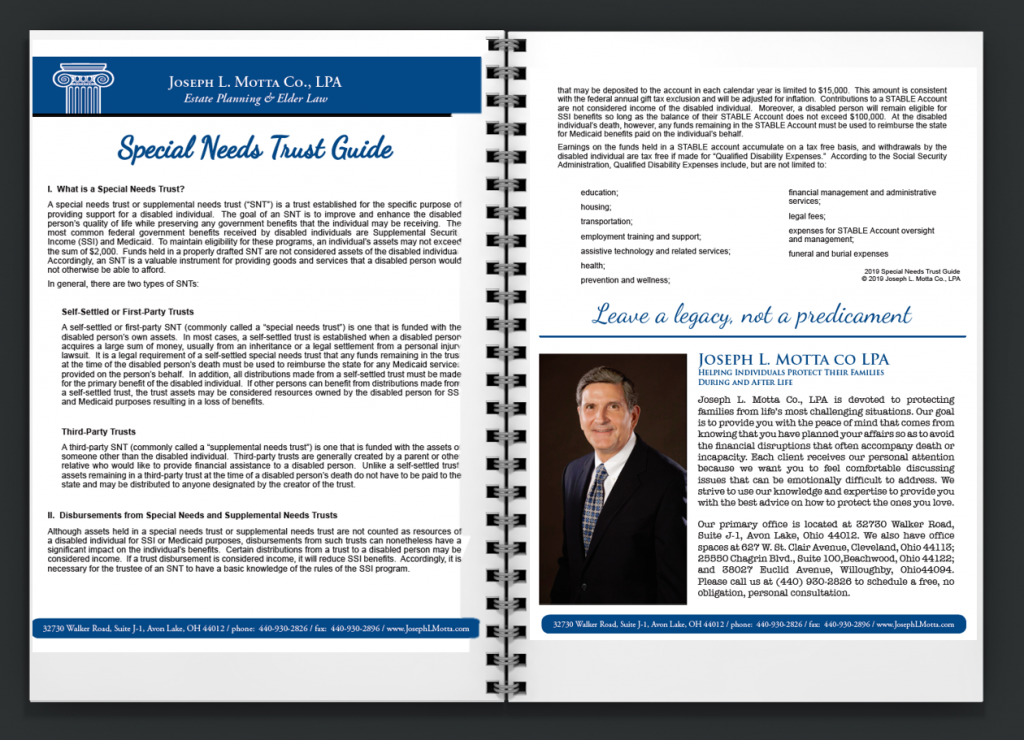 Special Needs Trust Guide