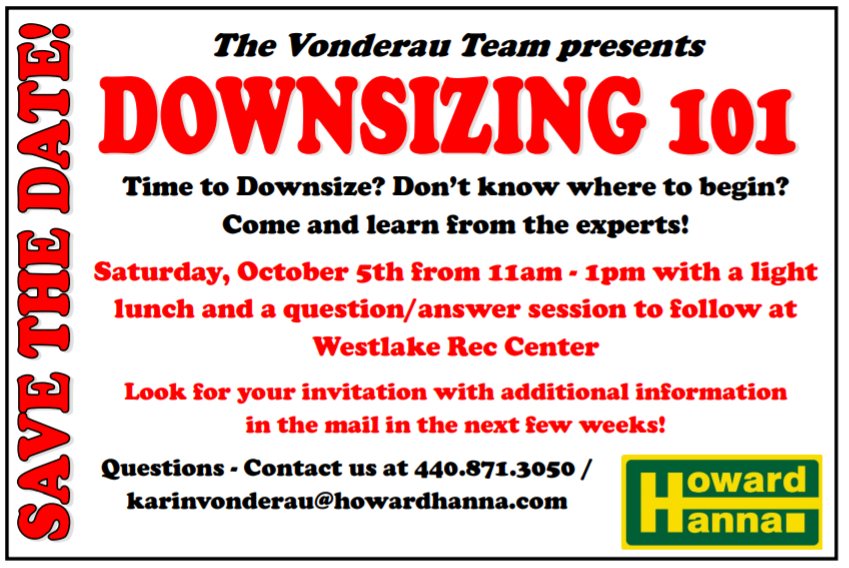 Downsizing Event