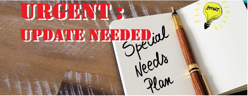 Update Special Needs Planning