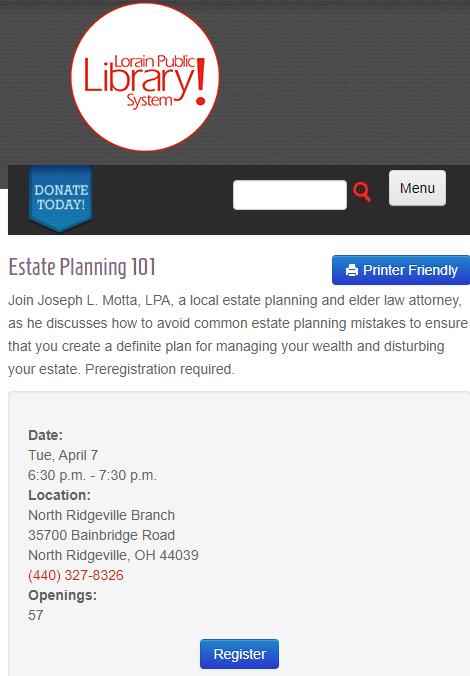Estate Planning Elder Law Attorney N. Ridgeville