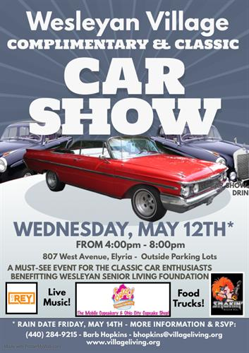 Wesleyan Village Classic Car Show
